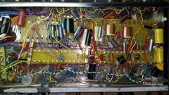 Amp Progress (Wonderlane) Tags: wonderlane amp progress solder lug terminals terminal lugs coils capacitors resisters oldstyle twisted pair chassis copper guitaramplifier cherrywire