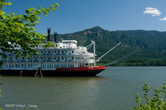 American Empress, Stevenson, Washington (Gary L. Quay) Tags: columbia river gorge oregon washington nikon d300 gary quay american empress sternwheeler stevenson riverboat
