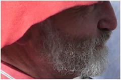 L'Homme au chapeau rouge (Pi-F) Tags: homme chapeau rouge barbe poivre sel contestation nuitdebout paris république manifestation robindesbois