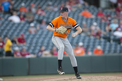 2017 NCAA Baseball Championship, Fayetteville Regional, Oklahoma State Cowboys vs Oral Roberts Golden Eagles, Saturday, June 3, 2017, Baum Stadium, Fayetteville, AR. Bruce Waterfield/OSU Athletics (OSUAthletics) Tags: 2017 osu baseball big12 cowboys eagles fayettevilleregional goldeneagles ncaachampionship oklahomastate oklahomastatecowboys oklahomastateuniversity oralroberts oralrobertsuniversity oru regional