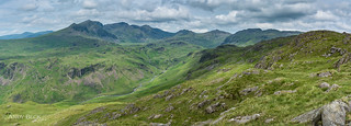 The Scafells from Border End