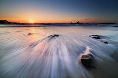 Las Llanas (photokemi) Tags: samyang sfh14 cokin nd8 asturias longexposure seascape ocean sun