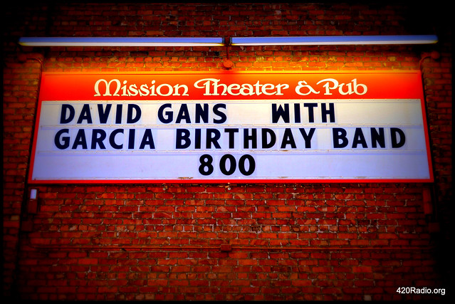 David Gans - Mission Theater - Portland, Oregon – 04/19/16