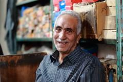 At bazaar (deus77) Tags: kashan iran bazaar seller portrait people iranian old man