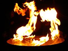 Fire and Water (failing_angel) Tags: 020916 london southwark bankside tatemodern tate greatfire350 compagniecarabosse firegarden greatfireoflondon