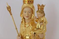 Księżówka, apartament św. Jana Pawła II (figura MB Ludźmierskiej w kaplicy)