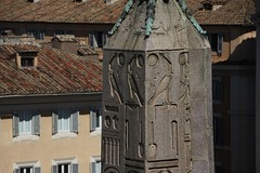 Romantics in a classical city (Andrew 62) Tags: rome obelisk hieroglyphics rooftops