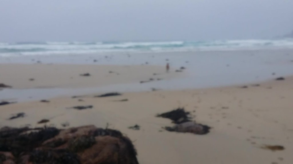 Reba on Gwynver beach