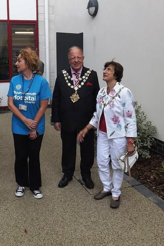 Mayor & Mayoress arrival