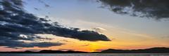 2012-05-12 Sunset Panorama (302x1024) (-jon) Tags: anacortes skagitcounty skagit washingtonstate washington salishsea fidalgoisland sanjuanislands pugetsound washingtonpark rosariostrait clouds cloud sky sunset sunsetbeach d90archives pano panoramic panorama a266122photographyproduction composite stitched