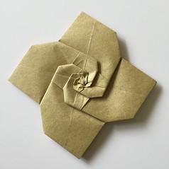 Fractal Flower (Baltorigamist) Tags: origami fractal flower