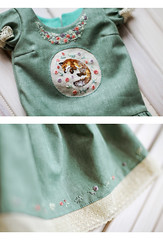 (Luthigern) Tags: bjd sd sewing morigirl mori girl embroidery
