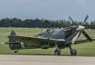 Spitfire TD314 Taxiing In