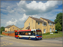 37065 Admirals Way (Jason 87030) Tags: admiralsway southbrook daventry northants northampton d1 enviro e200 houses sky stagecoach vehicle weather sony ilde composition 37065 yy63yrm afternoon rare pretty exclusive capture explore exist amazing pro amateur snap photo super great fantastic world bright light art photograph new trip uk travel sweet yummy bestoftheday smile picoftheday life allshots look nice likes lol flickr photostream transit washing windows