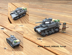 Stuart (Carpet lego) Tags: m3 stuart ww2 lego m3a1