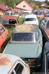 Skoda S100 (MilanWH) Tags: autovrakoviště scrapyard czech rust épave