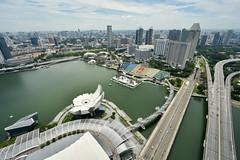 Singapore (scuba_dooba) Tags: singapore marina bay sands double helix bridge dna 滨海中心 artscience museum 艺术科学博物馆