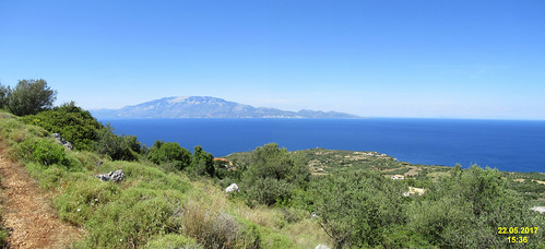 Cephalonia from above Korithi