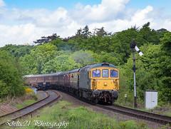 20170518-IMG_7891 (deltic21) Tags: severnvalley severn railway rail railways diesel preservation preserved gala dieselgala british brblue britishrail thrash 33108 bagpipe class33 crompton bewdley brcw shredder