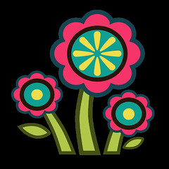 flowers 8 icon (kwippe) Tags: icons clipart vector