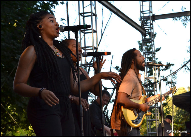 Ziggy Marley - Edgefield Amphitheater, Troutdale, OR - 06/23/17