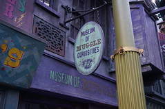 """Universal Studios, Florida: Museum of Muggle Curiosities • <a style=""""font-size:0.8em;"""" href=""""http://www.flickr.com/photos/28558260@N04/33907816374/"""" target=""""_blank"""">View on Flickr</a>"""
