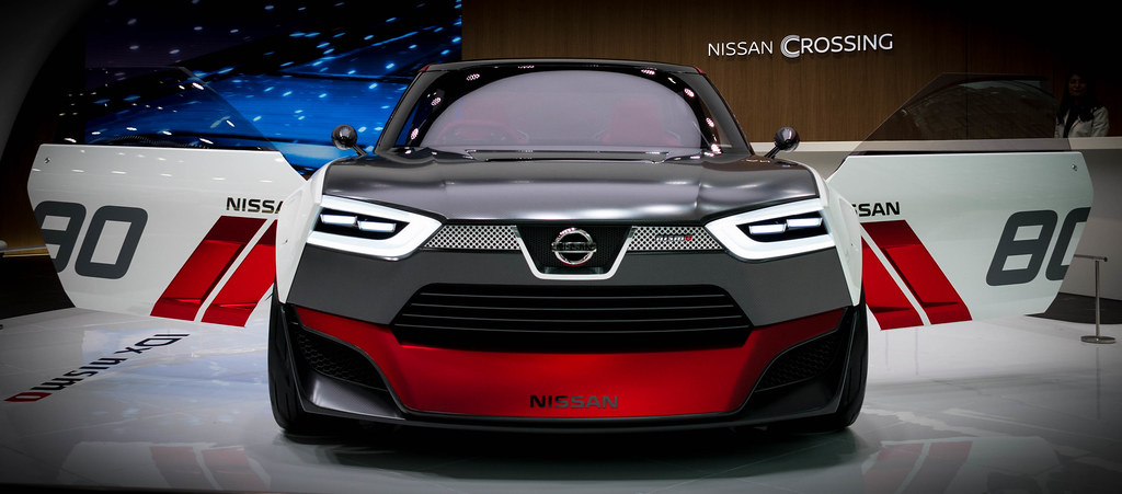 nissan crossing to the future in ginza autos post