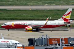 Lucky Air   Boeing 737-800   B-7991   Shanghai Hongqiao (Dennis HKG) Tags: luckyair lke 8l boeing 737 737800 boeing737 boeing737800 aircraft airplane airport plane planespotting shanghai hongqiao zsss sha b7991 canon 7d 100400