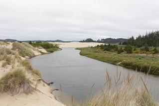Tenmile Creek, from a sandy overlook