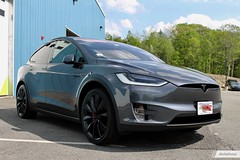 Tesla Model X: Chrome Delete + Full Front End Custom PPF
