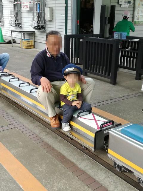かなり本格的なミニ列車・フレッシュひたち号|北鹿浜公園
