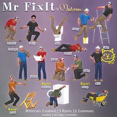 Mutresse@The Arcade in June 2017-Mr FixIt Gacha Key (Eeky Cioc) Tags: second life original mesh rezzable humanoid people cartoon funny