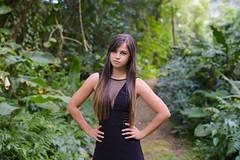 Tatiana (Marvin Chandra) Tags: d600 50mm marvinchandra 2017 model portrait gown waiakeakua trail hawaii oahu manoa honolulu hiking nature