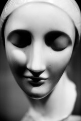 Early Ideal Head (Thomas Hawk) Tags: america earlyidealhead elienadelman forestpark missouri mo museum saintlouisartmuseum stlouis usa unitedstates unitedstatesofamerica artmuseum bw sculpture fav10 fav25