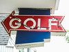 Golf Neon Sign During The Day; Stone Harbor, New Jersey (hogophotoNY) Tags: hogophoto stoneharbor newjersey unitedstates us neon sign nj east eastcoast nikon nikonp900 p900 digital beachtown newjerseyus newjerseyusa