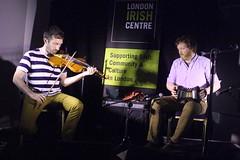 Caoimhín Ó Raghallaigh & Cormac Begley (2017) 01 (KM's Live Music shots) Tags: folkmusic ireland irishfolk caoimhinoraghallaighcormacbegley caoimhinoraghallaigh cormacbegley 55fiddle fiddle violin jeffriesconcertina angloconcertina concertina ceol londonirishcentre