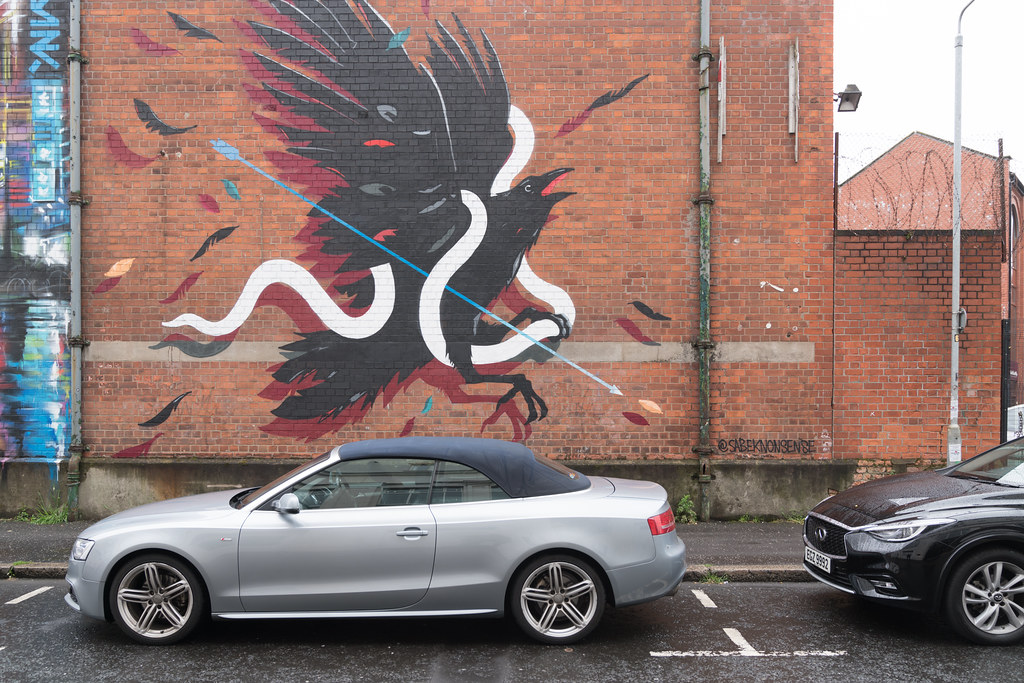 STREET ART AND GRAFFITI IN BELFAST [ANYTHING BUT THE FAMOUS MURALS]-129127