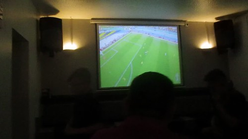 The Lowerhouse, Oldham: DFB-Pokal Final on television 27 May 2017