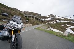 DSC07345 (Olaf Biedron) Tags: alpen fz1 yamaha fazer motorrad motobike bike alpenpass grossglocknerstrasse grosglocknerstrase dolomiten