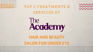 Top 5 treatments at The Academy
