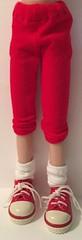 Little Red Capri Pants...For Blythe...