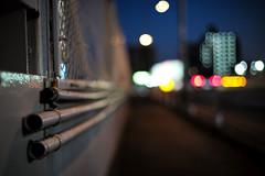 Pipes (hidesax) Tags: pipes dusk street bokeh night cars tail lamps ageo saitama japan hidesax leica m240 voigtlander 40m f14