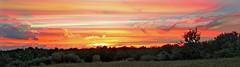 Painted Sunset (Ian Veitzer) Tags: sunset timestack painted orange landscape southwindsor
