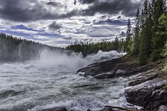 Reynforsen (Einar Schioth) Tags: river reynforsen sky summer sunshine sun water waterfall shore day canon clouds cloud coast nationalgeographic ngc norway norge nature nordland landscape lake photo picture outdoor einarschioth