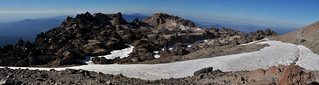 Lassen Peak, Snow-Filled Crater