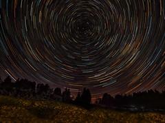 Startrails-Sternspuren - tanks for the Explore# 69 (Sonnenblume♥) Tags: himmel sky sterne star astronomy schwarzerhintergrund nacht night rund abstrakt schweiz switzerland
