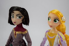 Rapunzel and Cassandra Doll Set - Tangled: The Series - Disney Store Purchase - Deboxed - Free Standing - Portrait Right Front View (drj1828) Tags: us disneystore tangled tangledtheseries doll 2017 purchase posable 10inch 2d deboxed rapunzel cassandra