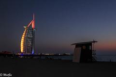IMG_8083 (MatGec) Tags: burjalarab jumeirah dubai uae twilight