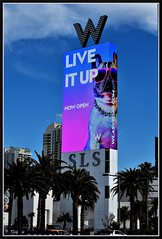 GetStarted (VegasBnR) Tags: nikon nikor ve vegas vegasbnr sign sls lvbv nevada w lasvegas vacation strip lasvegasblvd sahara city colorful 50mm