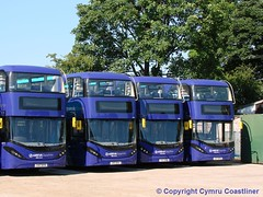 Our Day Will Come (Cymru Coastliner) Tags: arrivabuseswales adlenviro400city enviro400city 1000 cx17bya 1001 cx17byb 1002 cx17byc 1003 cx17byd bus sapphire wrexham wrexhamdepot northwales